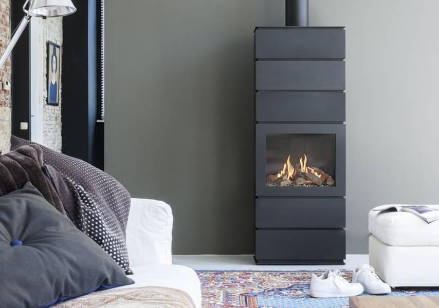faber gaskamin blokhus modell gaskaminofen. Black Bedroom Furniture Sets. Home Design Ideas