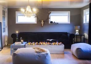 elektrische kamine von faber. Black Bedroom Furniture Sets. Home Design Ideas