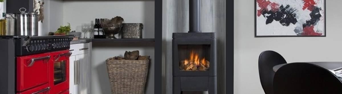 faber gaskamin odense modell freistehender dreiseitiger gaskaminofen. Black Bedroom Furniture Sets. Home Design Ideas