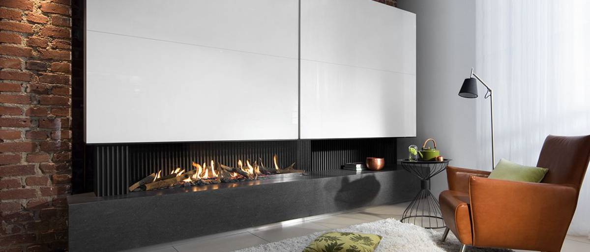 gaskamin g165 37c modell von kalfire. Black Bedroom Furniture Sets. Home Design Ideas